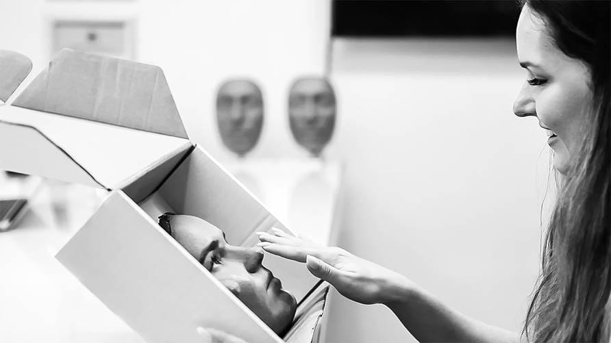 3D burun maskesi